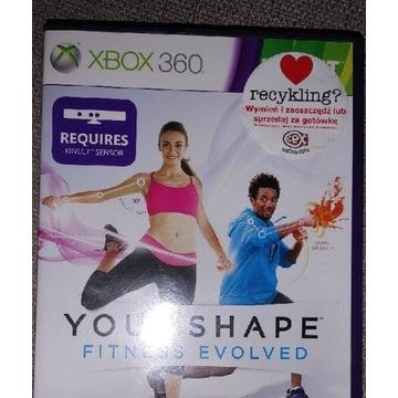 Your Shape Fitness Evolved, pudełkowa, XBOX360