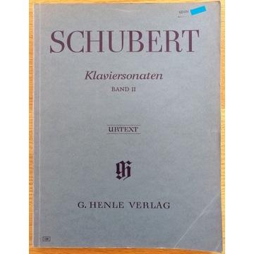 """SCHUBERT """"Klaviersonaten"""" Band II"""