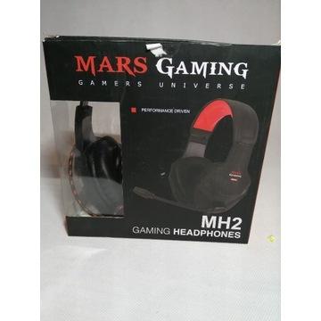 Słuchawki Gamingowe z mikrofonem Mars Gaming MH2