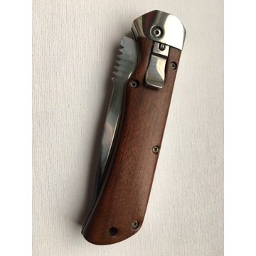 Nóż sprężynowy Kandar N-0532. NOWY