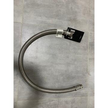 """Wąż elastyczny przyłączeniow WZ 1"""" 120cm w oplocie"""