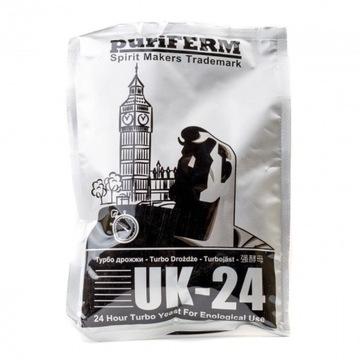 Drożdże gorzelnicze Puriferm UK-24 do cukrówki
