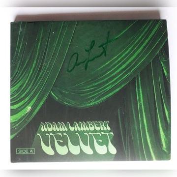 Adam Lambert Queen, Velvet - płyta z autografem!