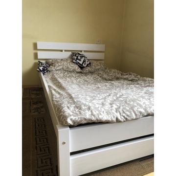Łóżko sosnowe Białe 140x200 Nowość!