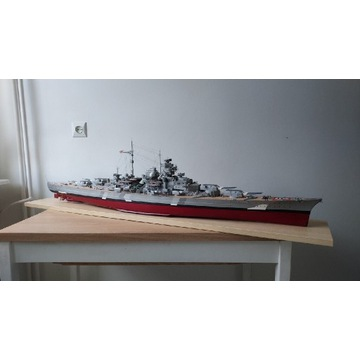 Bismarck Military Model Haliński 1:200