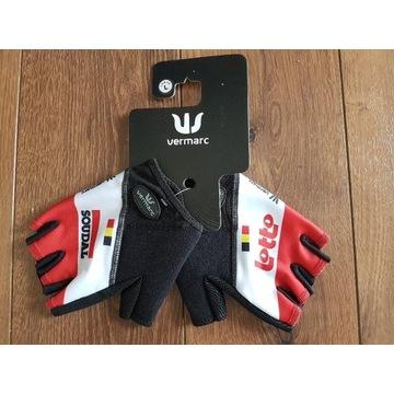 Rękawiczki rowerowe Vermarc Lotto Soudal