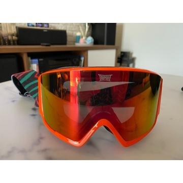Gogle narciarskie Tripout Blaze z szybą Orange Fir