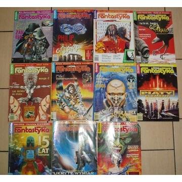 Nowa Fantastyka 1997 11 numerów