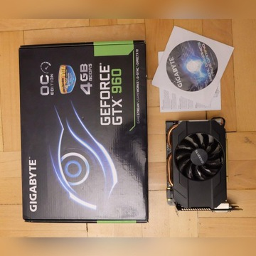 Karta graficzna GIGABYTE GeForce GTX 960 4GB