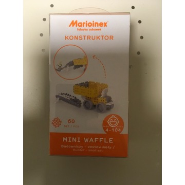 Marioinex Mini wafle budowniczy 60 elementów