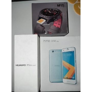 Huawei p9 lite i HTC one A9s + Smatwatch gratis