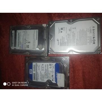 Dysk HDD 500GB x3