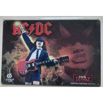 AC/DC metalowa tablica 20x30cm