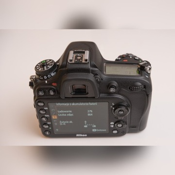 Nikon D7100 stan idealny
