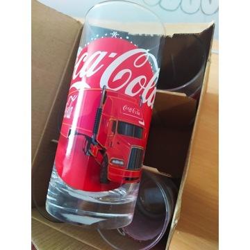 Zestaw szklanki Coca cola 6szt komplet szklanka