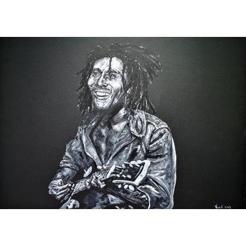 Obraz Bob Marley 80 x 100 cm