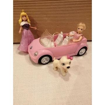 Barbie Mattel, Auto, Pies