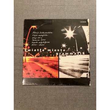 Grammatik Światła miasta Instrumental LP|LIMITED