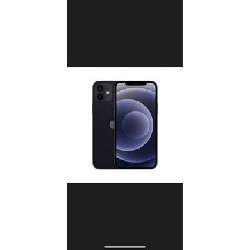 Iphone 12 256gb CZARNY NOWY ZAFOLIOWANY GWARANCJA!