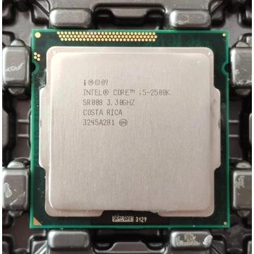 Intel Core i5-2500K, 3.30 GHZ