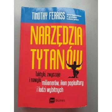Książka Narzędzia tytanów Timothy Ferriss