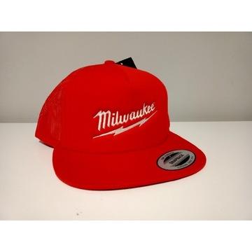 Milwaukee czapka premium czerwona