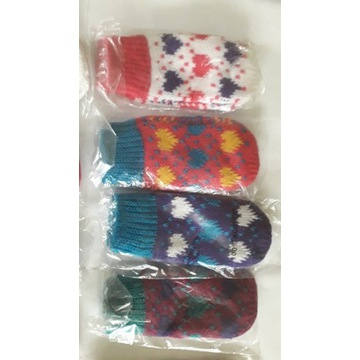Rękawiczki dla dzieci 32 pary.