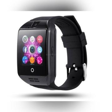 Wodoodporny złoty lub czarny Zegarek Smartwatch