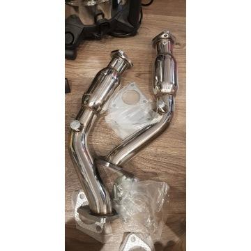 370z, g37, 350z, FX37 Down pipe decat katalizator