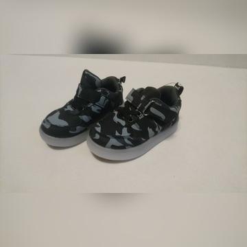 Buty dziecięce r25 *czarne moro*