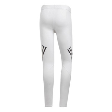 Alphaskin Sport Long Tights, białe, M