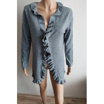 Sweter/narzutka 100% kaszmir M