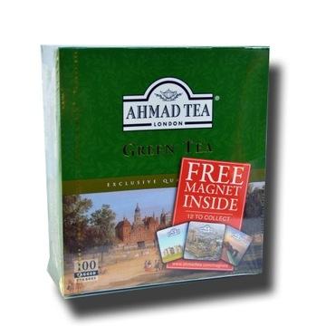 Ahmad Tea Zielona Herbata 100szt