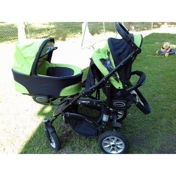 Wózek BabyActive Twinni 3w1