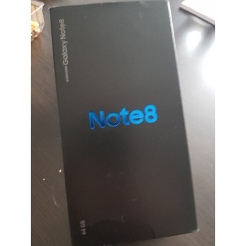 Samsung Galaxy Note 8 MIDNIGHT BLACK