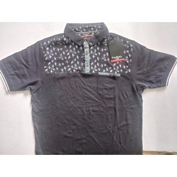 Koszulka Pierre Cardin, 100% bawełny.