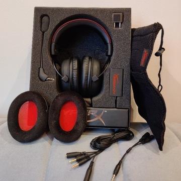 Słuchawki gamingowe HyperX Cloud czarne, mikrofon!