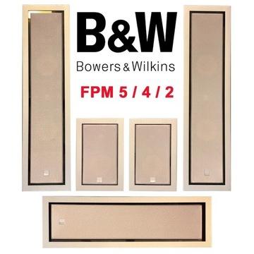 Kolumny ścienne głośniki B&W Bowers & Wilkins FPM