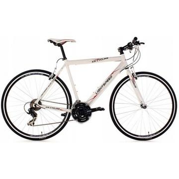 Rower Szosowy 28 Trekking Wysoka Rama Klasyczny