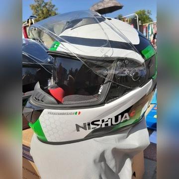 Kask motocyklowy Nishua NTX-2 pinlock+kominiarka