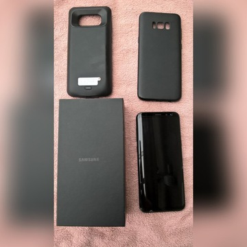 Samsung Galaxy S8+ koloru Midnight Black