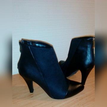 Buty damskie rozm:37 dł wkł:24 cm botki GOODIN