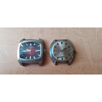 Dwa zegarki -FOSSIL  i POLJOT