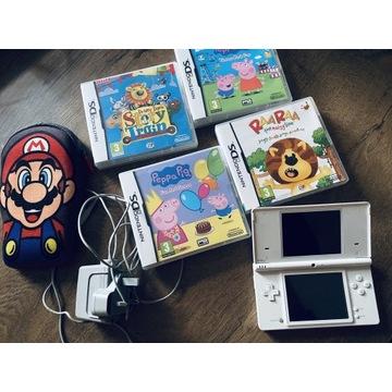 Nintendo DS zestaw gry etui