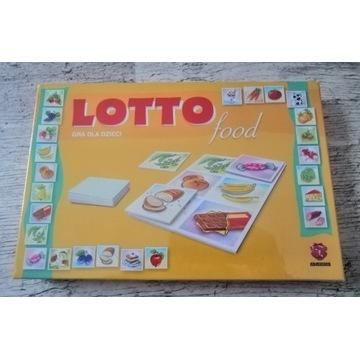 Lotto food, gra rodzinna, edukacyjna, dla dzieci