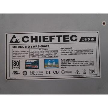 Zasilacz Chieftec APS-500S 500W