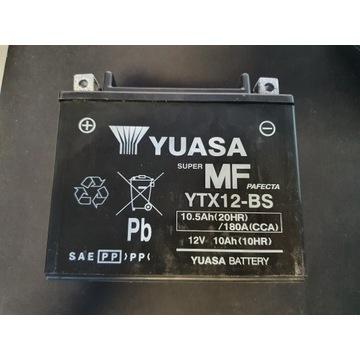 AKUMULATOR MOTOCYKLOWY YUASA YTX12-BS 12V 10.5AH