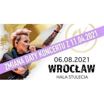 Bilety na koncert Agnieszki Chylińskiej 6.08 Wrocł