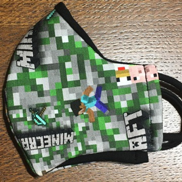 Maseczka Minecraft dzięcięca