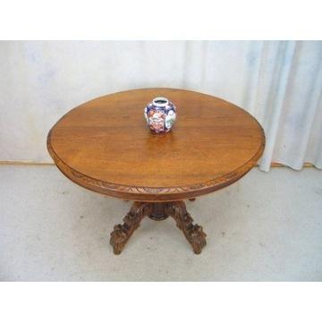 * Dębowy Stół Owalny długość max 250 cm **
